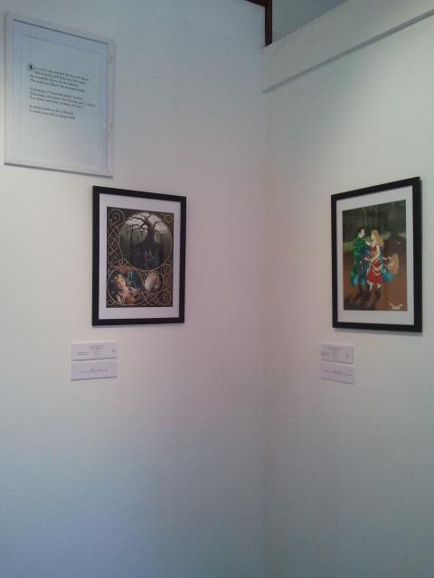 liedekijn exhibition art by Katie Winchester and Sonja Barfoed