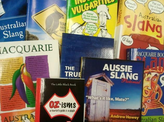 Australian slang books