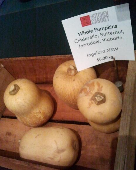 Pumpkins at The Kitchen Cabinet