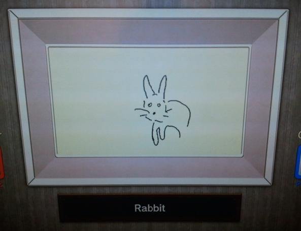 Rabbit by Sonja Barfoed in Game and Wario Sketch Pictionary