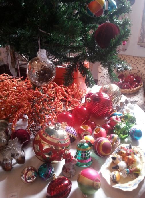 Benedict House Christmas baubles
