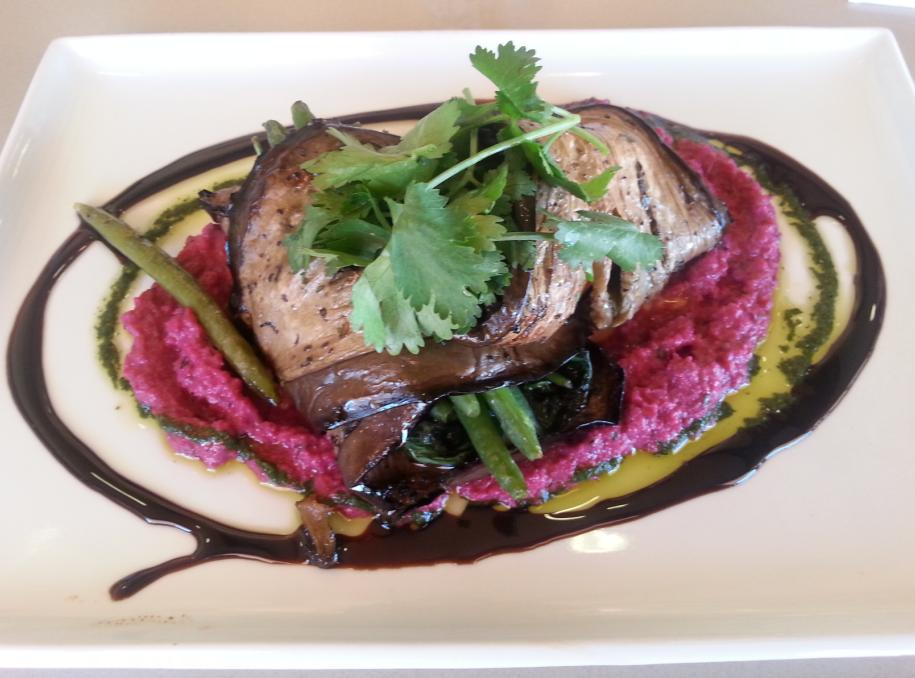 Eggplant at pinehill bistro