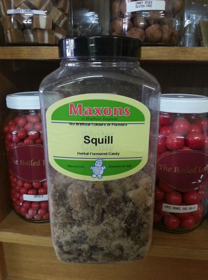 Squill candy at The Boiled Lolly, Braidwood, NSW, Australia