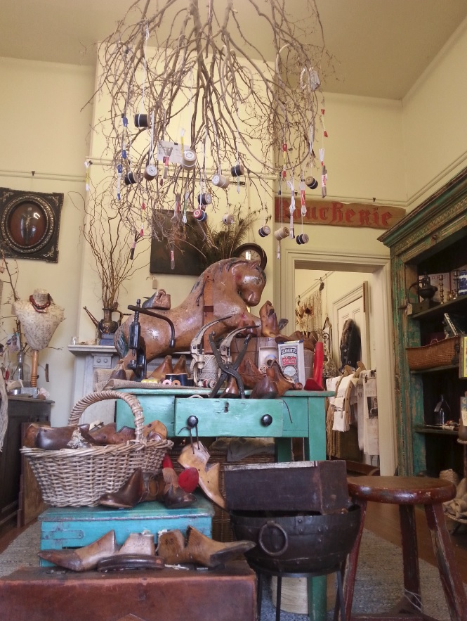 Beautiful store display at String, Braidwood, NSW, Australia