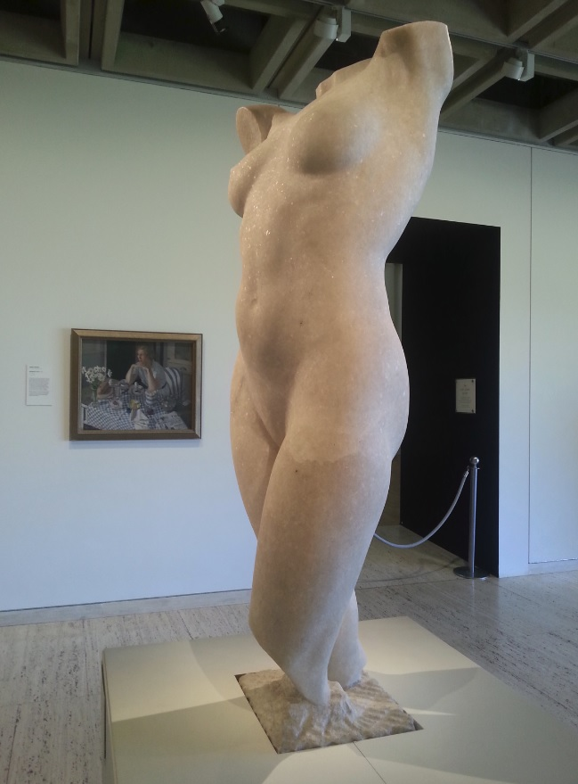 Sculpture of Australian Venus by Rayner Hoff at Art Gallery of NSW