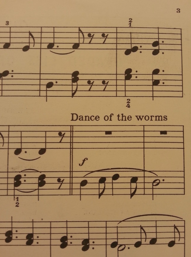 Worms, music by Olive Clark