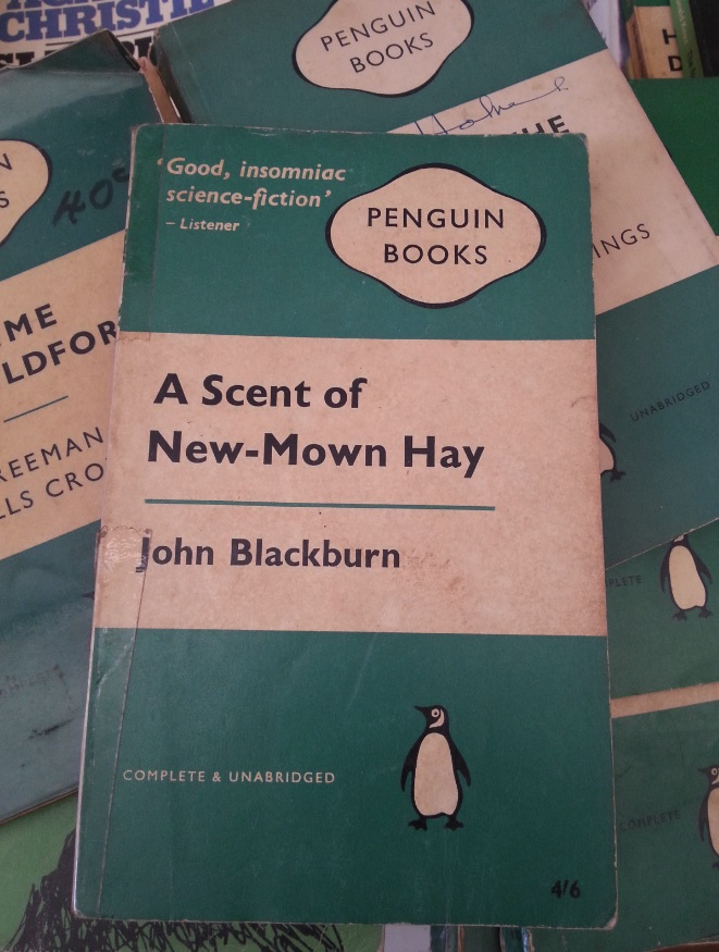 Green Penguin books at The Argyle Emporium, Goulburn