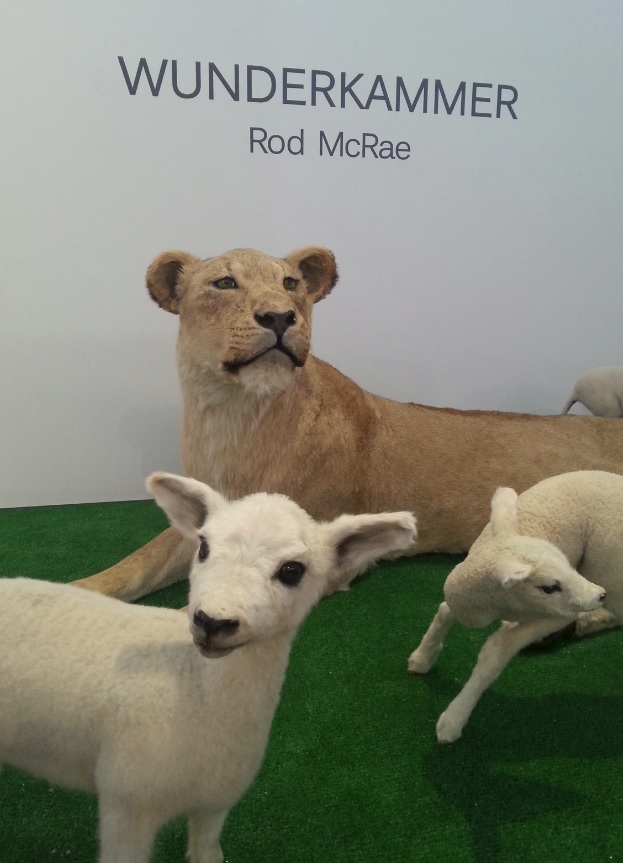 Lion and Lambs at Wunderkammer, Goulburn
