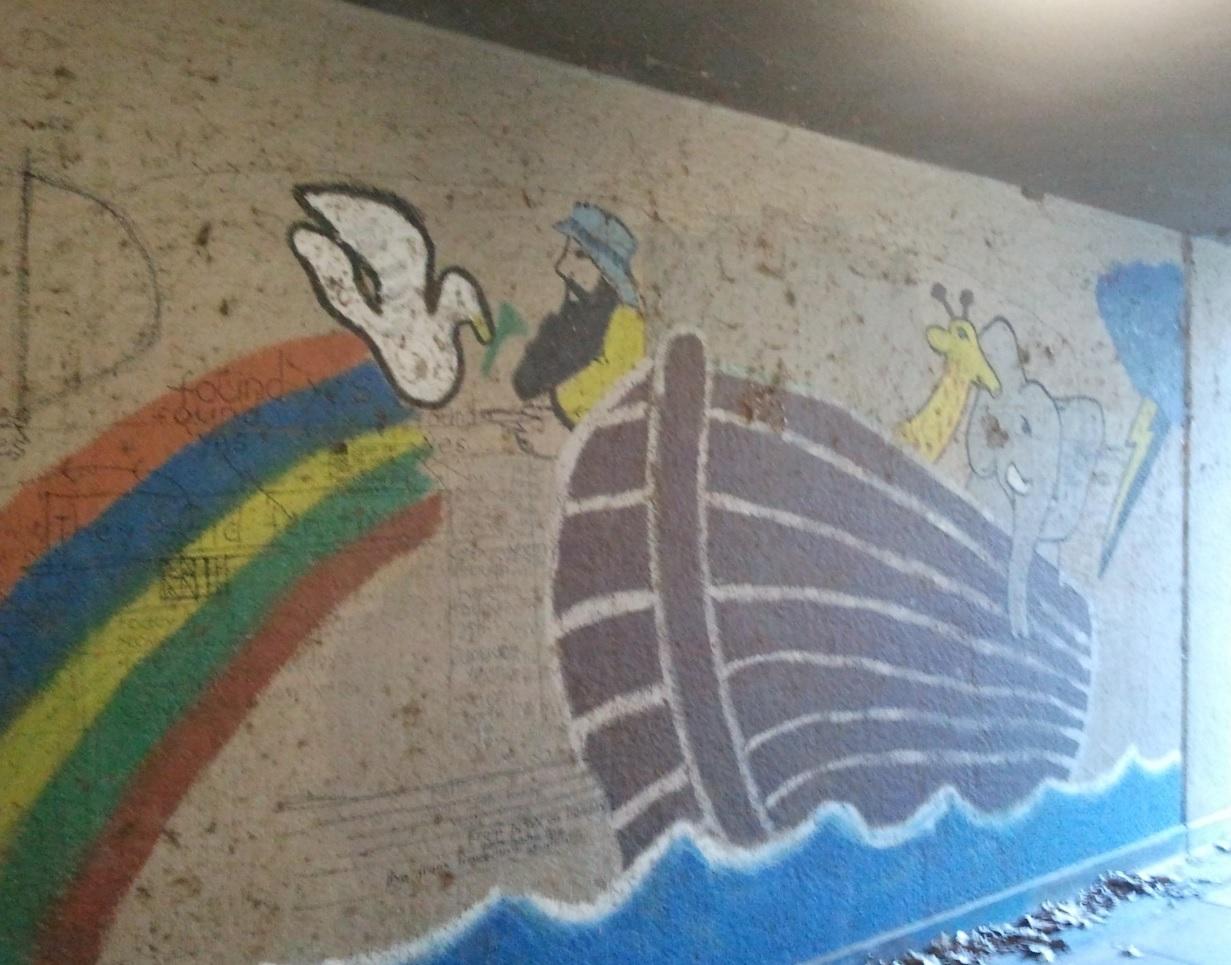 Jesus mural (July 2011)