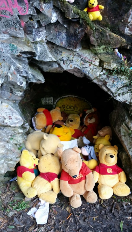 Pooh Bear Corner cave, Australia (May 2016)
